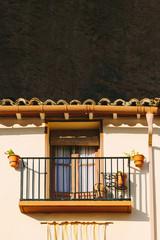 Architecture in Riglos in Huesca, Aragon, Spain