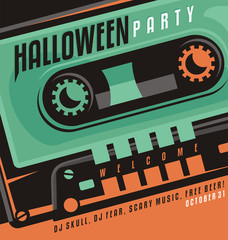 Halloween party - creative design concept