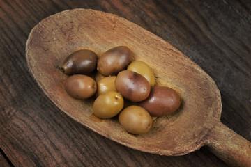cicchiaio in legno di olive taggiasche