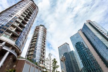 China city skyscrapers