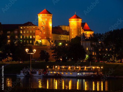 Fototapeta Wawel Castle by night