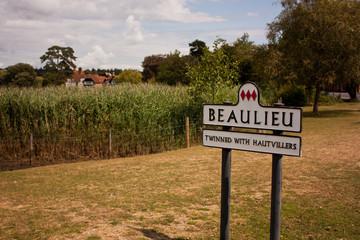 Signpost for Beaulieu