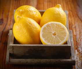 limoni biologici di sorrento