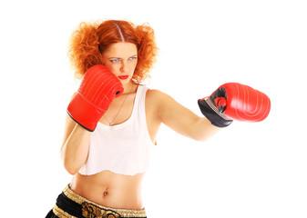 redhead boxer