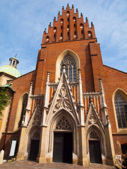 Dominican Church of Holy Trinity in Krakow