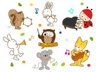 動物の演奏会