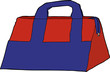 Red and Blue Bag