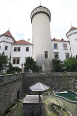 Konopiste castle in the Czech Republic.