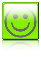 smiley vert