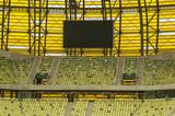 billboard, ekran informacyjny na stadionie