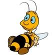 Obrazy na płótnie, fototapety, zdjęcia, fotoobrazy drukowane : Relaxing Bumblebee