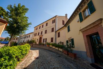 Polverigi, Marche, Italia