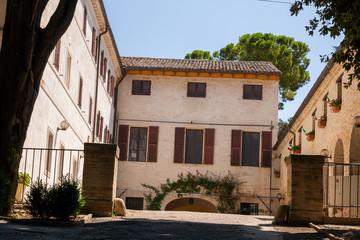 Villa Nappi, Polverigi, Marche, Italia