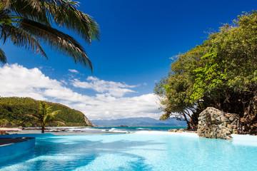 Pool on the Seaside