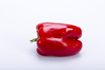 red pepper isolated on white background