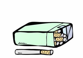 doodle cigarette