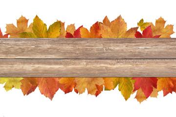 Herbstliches mit Holz