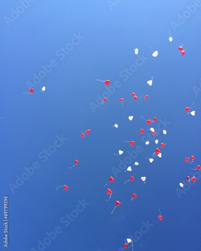 canvas print picture Ballons