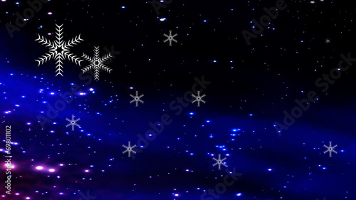 Foto op Aluminium Beijing christmas background with star lights