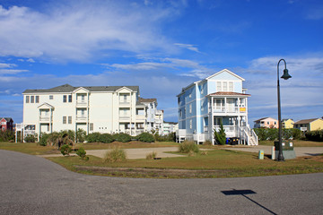 Street in Rodanthe, Outer Banks