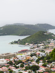Coastal Town on St Thomas
