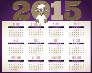 2015- Goat Calendar