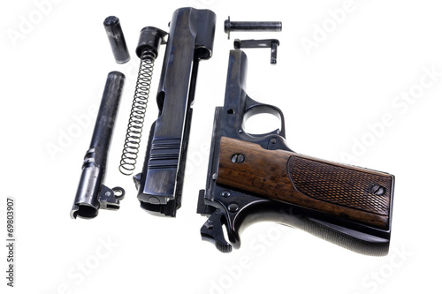 Seperate parts handgun - 69803907
