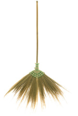 broom made from dry grass