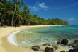 Leinwanddruck Bild - Little Corn Island beach