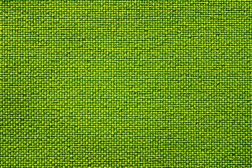 Green natural linen