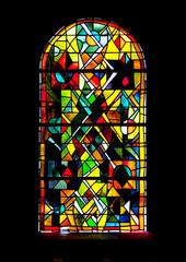 Vitrail de l'église st Pierre et Paul à Sigolsheim, Alsace