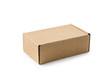 canvas print picture - Closed cardboard box