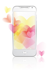Smartphone in love 01