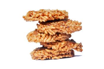 Thai Sweet Crispy Rice Cracker