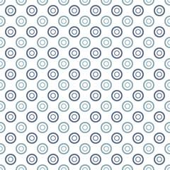 Elegant polka dot vector seamless pattern