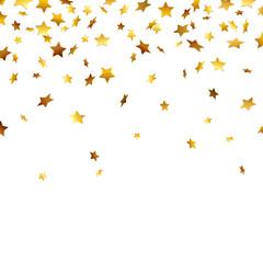 Goldener Sternchen-Regen