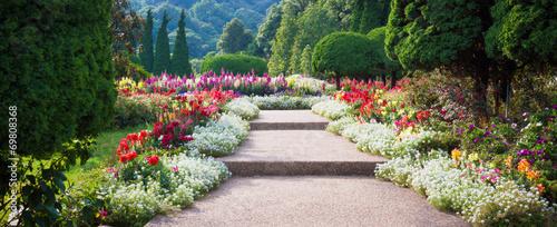 Tuinposter Lente Flower Garden