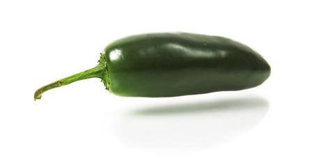 green jalapeno hot pepper