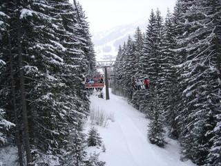 горные лыжи в Альпах Италия