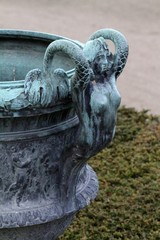 Versailles Palace - Gardens/ Mermaid Handle planter