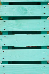 green wooden planks