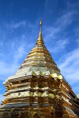 The famous Golden Buddha image