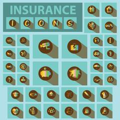 Insurance icon Iridescent tones