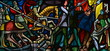 Leinwandbild Motiv vitrail