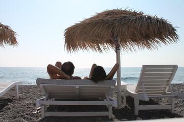 Пляж Санторини