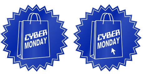 Cyber monday sticker