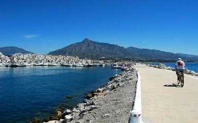 Dique, Puerto Banús, Marbella, Málaga