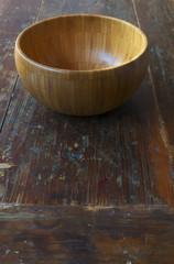 Empty rice bowl