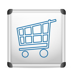 whiteboard shopping cart