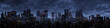 Leinwandbild Motiv Night city panorama